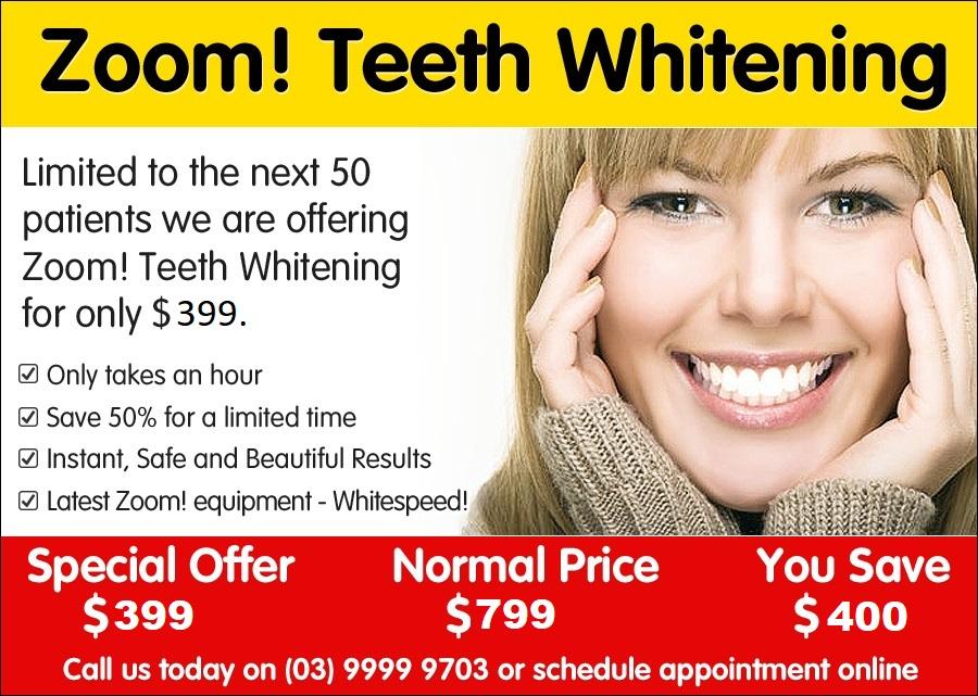 Promotion Teeth Whitening